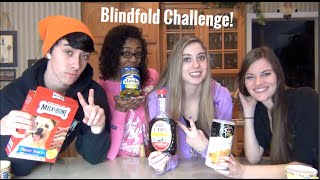 The Blindfold Food Challenge!!!