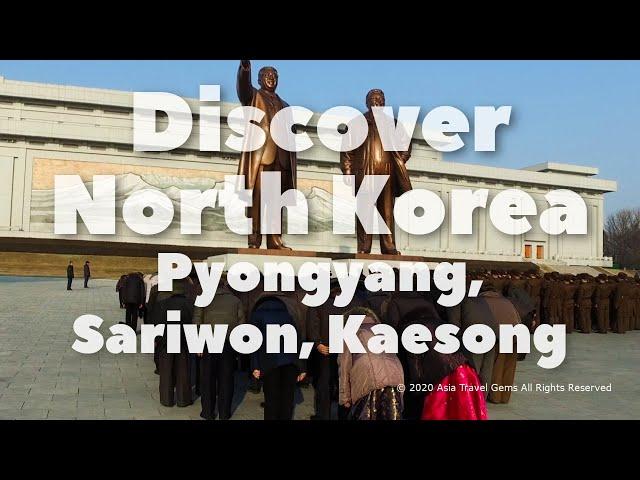 Discover North Korea - Pyongyang, Sariwon, Kaesong