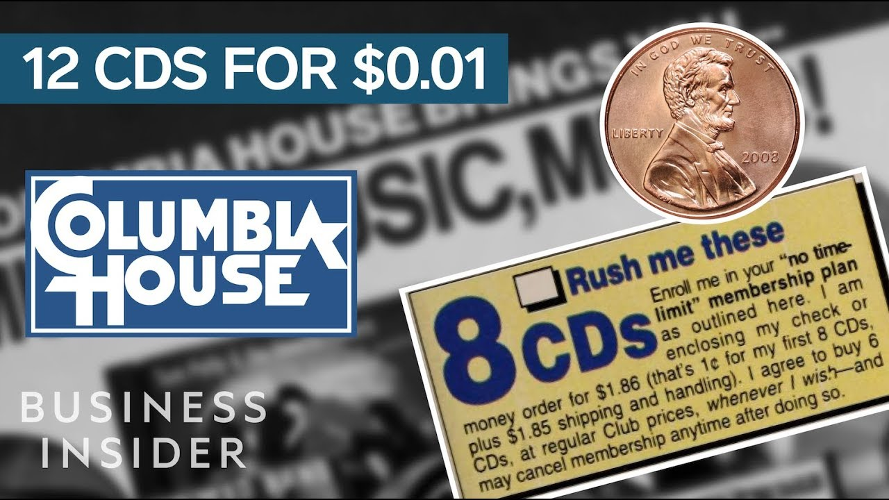 1f6adae342028f How Columbia House Sold 12 CDs For A Penny. Business Insider
