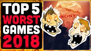 Top 5 Worst Games in 2018 And Where They Went Wrong - Hot Take