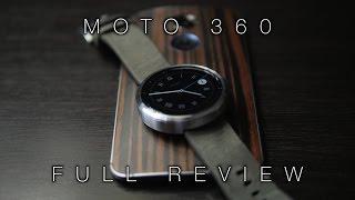 Motorola Moto 360 Full Review!