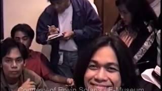 Eraserheads meets with Sen. Tito Sotto - Aug. 24, 1995
