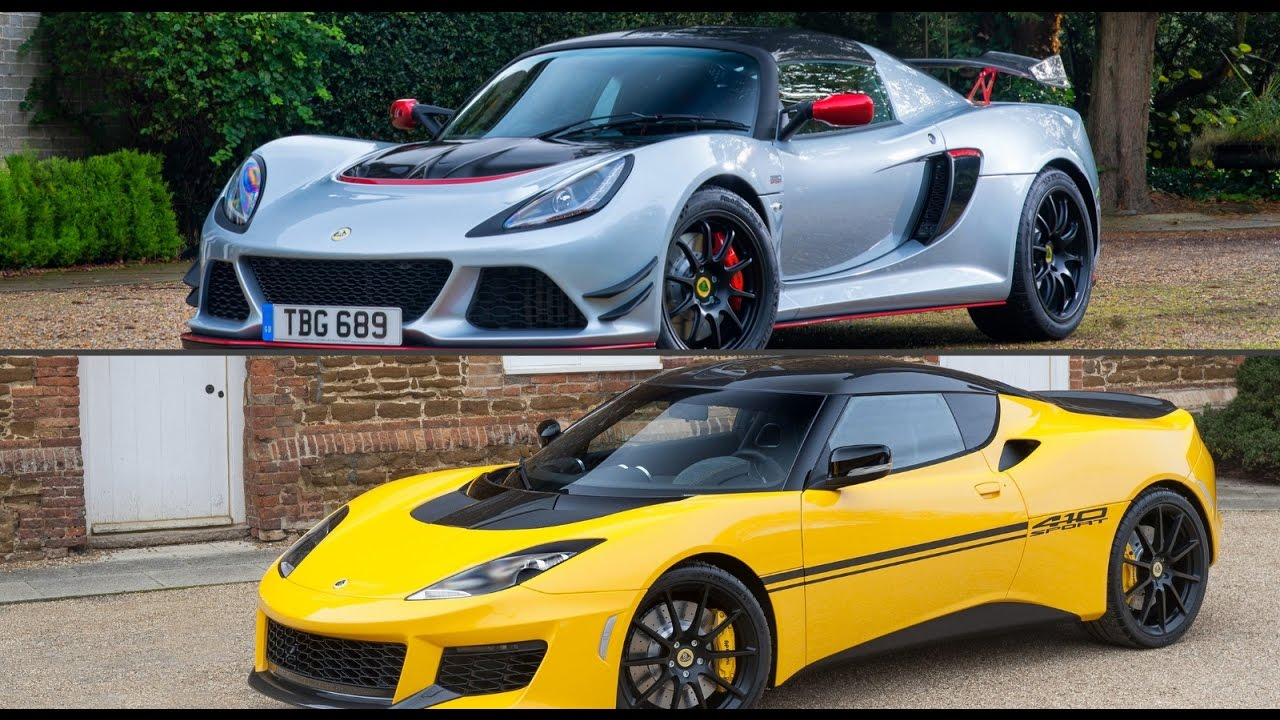 2018 lotus car. delighful 2018 2017 lotus exige sport 380 vs 2018 evora 410 inside lotus car