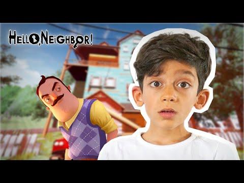 Jason plays Hello Neighbor game ACT 1  