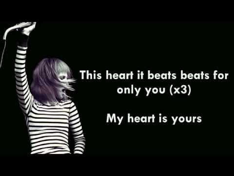 My Heart | Paramore (Lyrics)