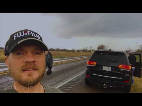 Tracking the First Tornadic Supercells of 2018 In Northeast Texas