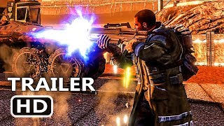 PS4 - Red Faction Guerrilla Re-Mars-tered Edition Trailer (2018)