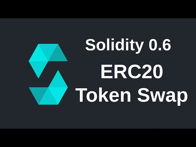 ERC-20 Token Swap | Solidity (0.6)