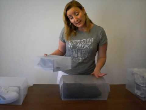 Como organizar tus zapatos con nuestras cajas de zapatos - Cajas transparentes para zapatos ...