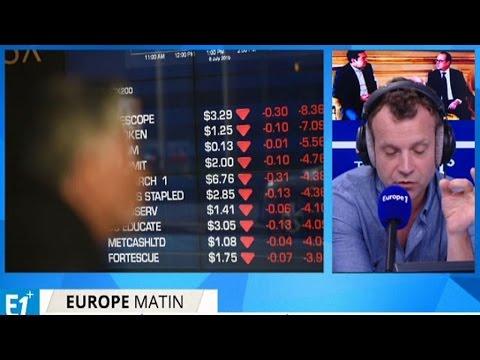 Non au référendum grec, les bourses ne s'emballent pas