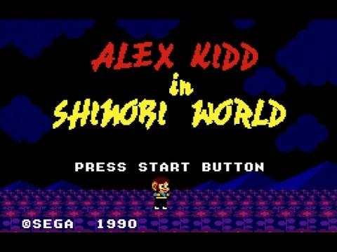 Classic Game Room - ALEX KIDD IN SHINOBI WORLD review for Sega Master System
