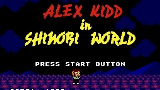 Classic Game Room  ALEX KIDD IN SHINOBI WORLD review for Sega Master System