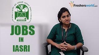 IASRI–Indian Agricultural Statistical Research Institute Recruitment Notification 2016 – Exam dates