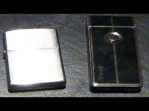 Plasma lighter VS Zippo lighter