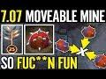 SO FU**ING FUN Techies MOVING MINE 7.07 META MERACLE TECHIES DOTA 2