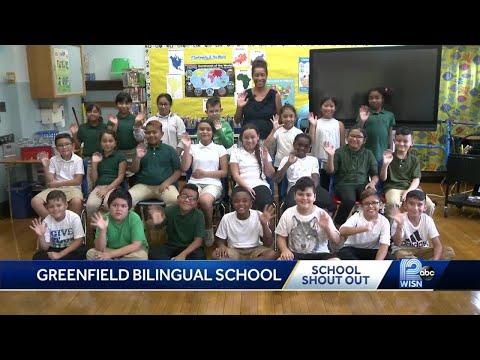 School shout out: Greenfield Bilingual school