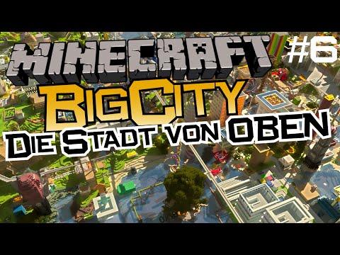 Minecraft BigCity #6: Überflug nach 3 Wochen und endlich bin ich wieder da. | Mr.Captain