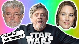 Mark Hamill's RESPONSE to Disney Star Wars vs George Lucas' - Star Wars Explained