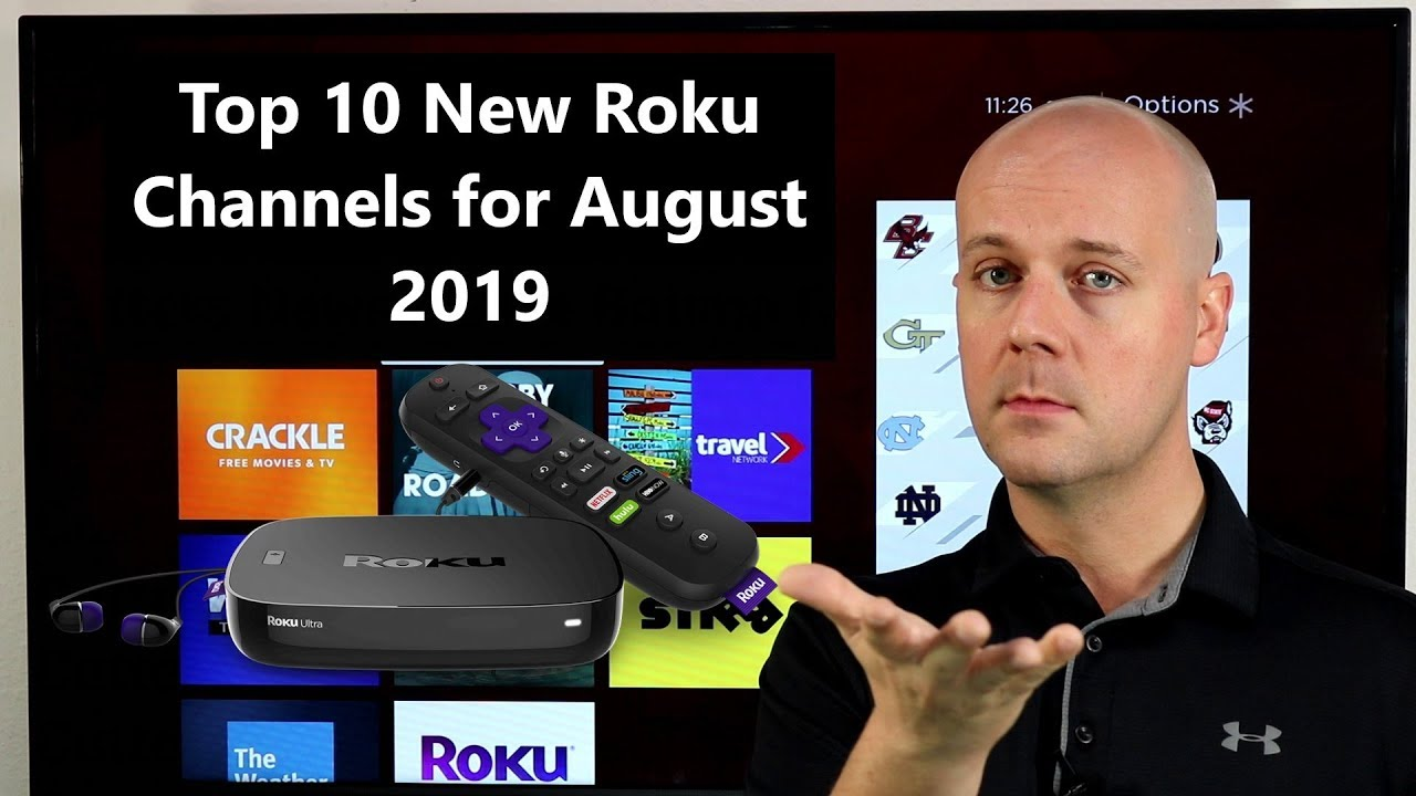 Top 10 New Roku Channels for August 2019