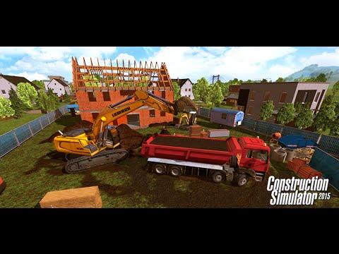 Construction Simulator 2015 parte # 3 Ahora Ismael (media cuchara)