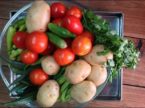 how to wash vegetables to remove pesticides