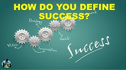 How Do You Define Success | Interview Question