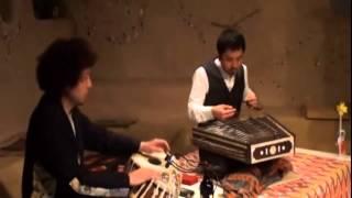 「端午の節句のインド音楽」 2012年5月5日国分寺「カフェスロー」 新井...