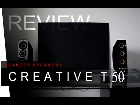 Creative T50 Wireless Desk Speakers - REVIEW