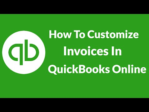 Lesson 2  How To Customize Invoices In QuickBooks Online