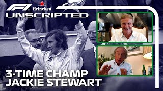 Sir Jackie Stewart Interview | F1 Unscripted | Heineken Non-Race Sundays
