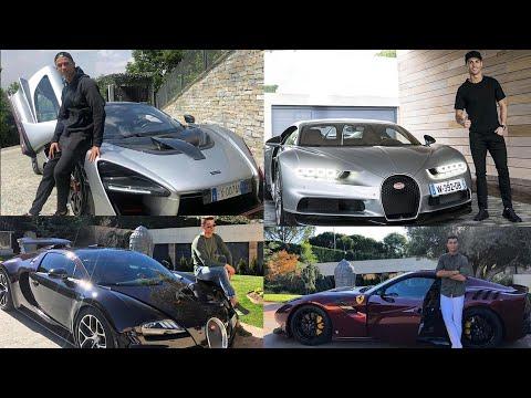 8 siêu xe đắt đỏ gần 500 tỷ đồng của Ronaldo, Bugatti, Ferrari, Lamborghini...có đủ
