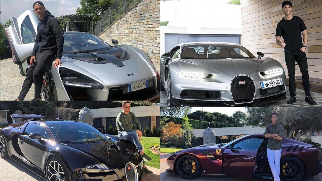 8 siêu xe đắt đỏ gần 500 tỷ đồng của Ronaldo, Bugatti, Ferrari, Lamborghini…có đủ