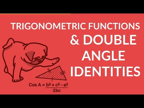 ʕ•ᴥ•ʔ Solving Trigonometric Functions with Double Angle Identities w/ easy tutorial