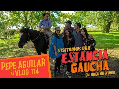 Pepe Aguilar - El Vlog 114 - Estancia Gaucha