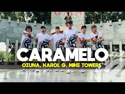 CARAMELO (Remix) by Ozuna, Karol G, Mike Towers | Zumba | Reggaeton | TML Crew Mav Cunanan