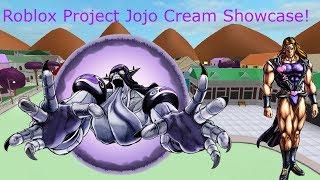 Roblox Project Jojo Cream Showcase!