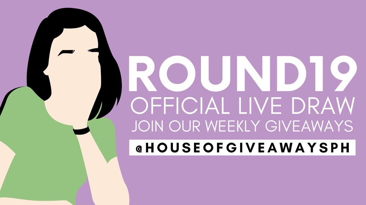 Round 19 Facebook Giveaway Live Draw | ₱5,000 plus 10 Consolation Prizes