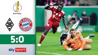 Borussia Mönchengladbach - FC Bayern München | Highlights - DFB-Pokal 2021/22 | 2. Runde