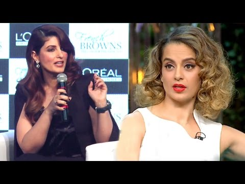 Twinkle Khanna's Reaction To Kangana's Nepotism Comment On Koffee With Karan Season 5