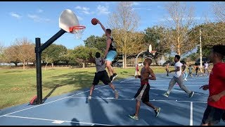 NICK BRIZ GETS BUCKETS ON HATERS IN PINE HILLS FLORIDA
