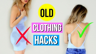 5 DIY Clothing Hacks EVERY Girl Must Know!