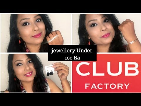 Club Factory Jwellery Mini Haul & Review
