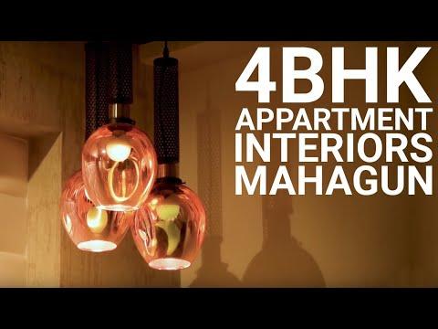 4 BHK Premium Interiors Mahagun Mywoods Greater Noida West | Mahagun Mezzaria | Noida +91 9315950993