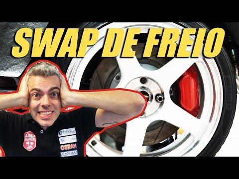 HONDA CIVIC TURBO COUPE FAZENDO SWAP DE FREIO (ft. TUCHE Motorsports)