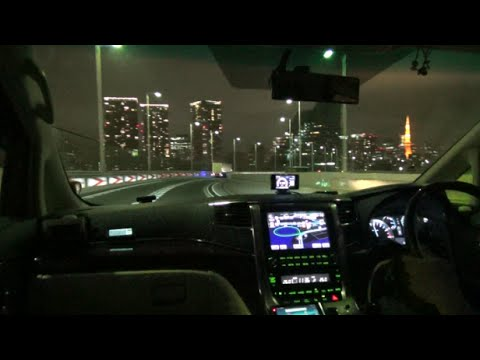 【HD等倍】 助手席気分? 助手席視点カメラテスト(首都高編) 「Passenger seat view camera test Metropolitan expressway  drive」