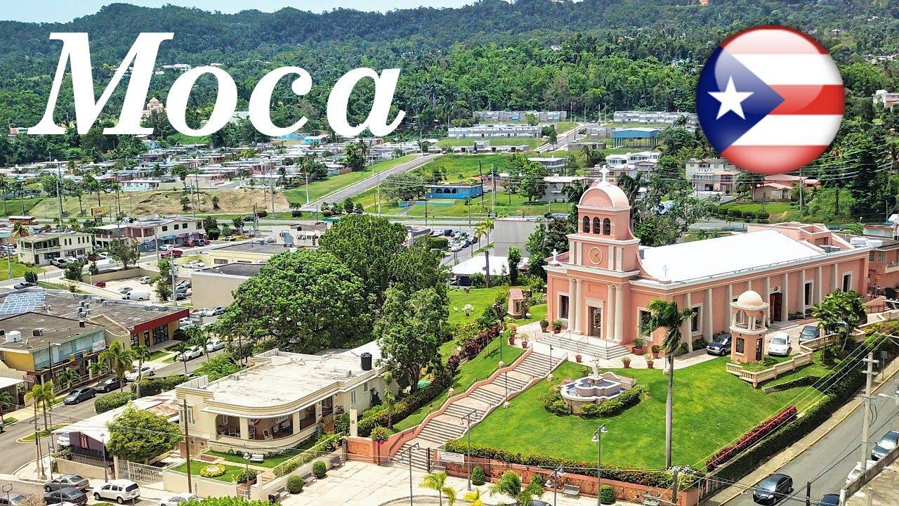 Moca, Puerto Rico From The Air 2018