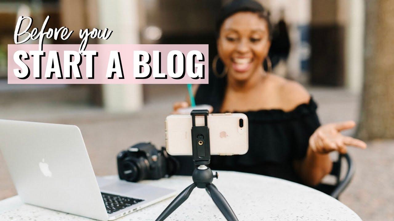 Do This Before you Start Your Blog! | Blogging Basics for Beginners | Nakisha Wynn