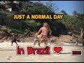Girls play football in Brazil ❤️️🇧🇷