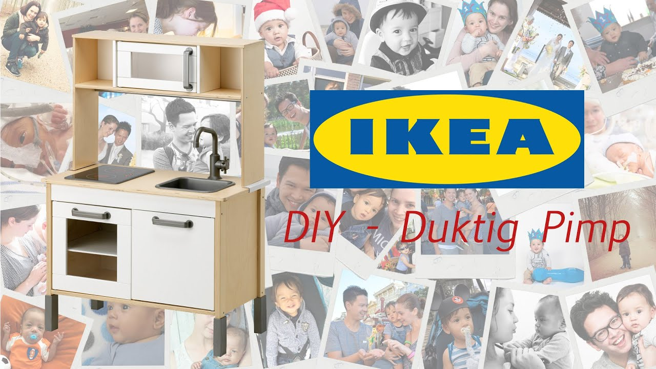 vlog diy ikea duktig keuken pimpen youtube. Black Bedroom Furniture Sets. Home Design Ideas