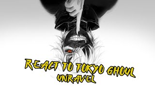 Tokyo Ghoul Reaction Opening 1 - Unravel